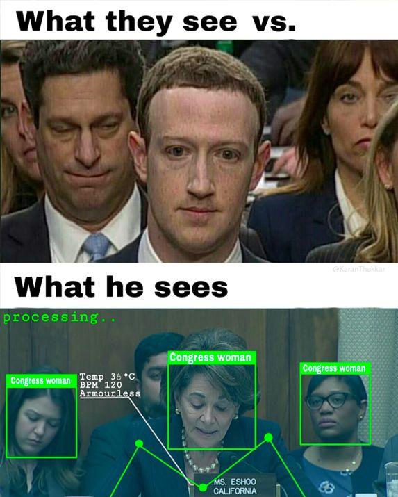 Mark Zuckerberg au tribunal