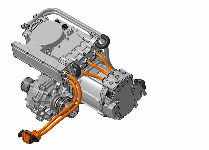 schéma d'un moteur électrique Swindon Powertrain