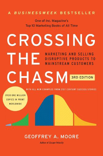Couverture de Crossing The Chasm de Geoffrey A. Moore
