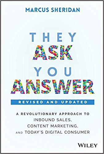 Couverture de They Ask, You Answer de Marcus Sheridan