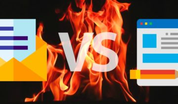 E-mail versus blog : comparatif 2020